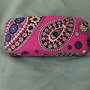 Paisley Patterned Glasses Case